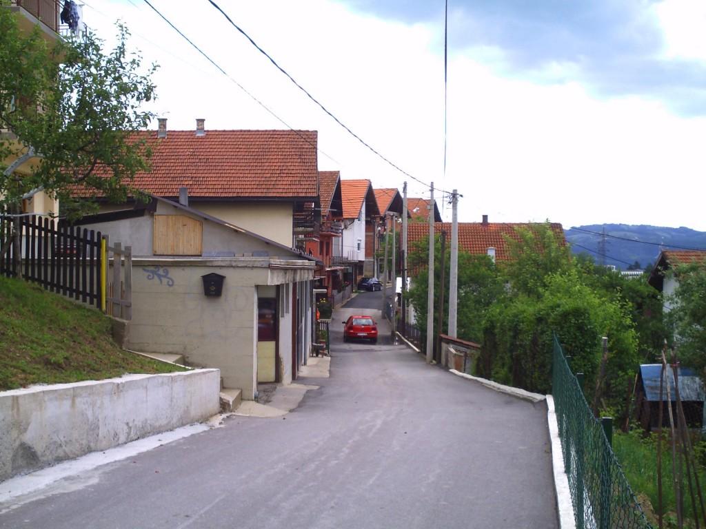 asfaltiranje kraka A.Carnojevica babici